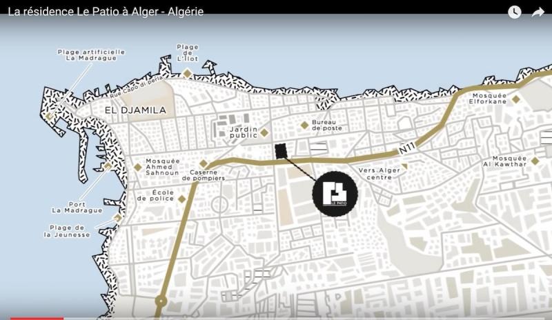 Guyotville-Centre:  Projet «Le PATIO» – 170 appartements de Haut Standing
